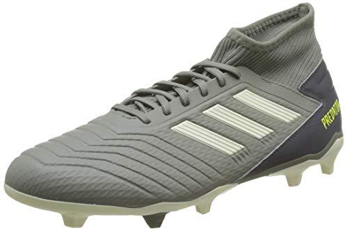 adidas Predator 19.3 FG, Zapatillas de Fútbol Hombre, Verde (Legacy Green/Sand/Solar Yellow Legacy Green/Sand/Solar Yellow), 40 2/3 EU