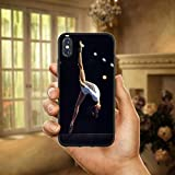 HANSHUOLa Gymnastique Balance Faisceau Doux TPU Silicium téléphone Portable Cas...
