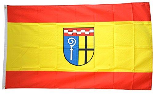 Flaggenfritze Fahne/Flagge Deutschland Stadt Mönchengladbach + gratis Sticker, 115 gr/m²