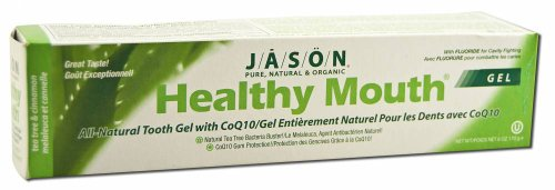 JASON Healthy Mouth Toothpaste Gel With Fluoride, Tea Tree Oil & Cinnamon, 6 Ounce by Jason