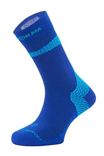 Enforma Socks Unisex Enforma Achilles Support Tape Socken, Blau, 36-38