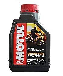 MOTUL Scooter Power LE 5W40 Fully Synthetic Oil, 800ml