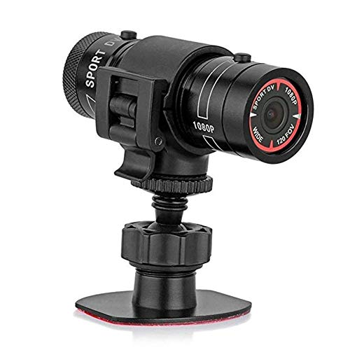 CHAO Full HD 1080P Mini Sport Ride DV-camera, aluminiumlegering design, draagbaar, waterdicht, ideaal voor outdoor-activiteiten zoals wandelen, skiën en kamperen