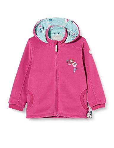 Sigikid Mädchen Mini Fleecejacke mit Kapuze Größe 098-128 Fleece-Jacke, Pink, 98