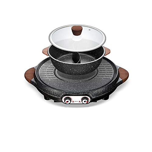 Xinyexinwang Hot Pot,funktioniert mit Allen gängigen Kochfeldernantihaftbeschichtet nahtloses Design professionelles Geschirr für das Zuhause