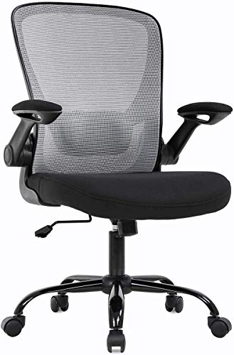 High Back Mesh Desk Chair, Chair with Wheels, Office Desk Chair Adjustable Office Chair, Mesh Computer Chair, Ergonomic Office Desk Chair with Lumbar Support