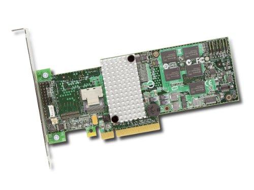 LSI LOGIC LSI00201 MegaRAID Controller Kit (4-Port, 8X PCIe 2.0, 1x SAS, RAID 0/1/5/10/50/60)