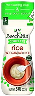 Best beechnut single grain rice cereal Reviews