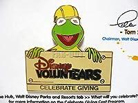 カーミット Disney Voluntears ボランティア キャスト限定 ピン KERMIT