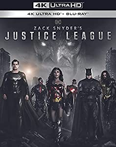 Zack Snyder\'s Justice League 4K Ultra HD