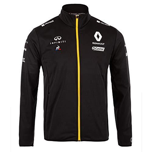 Renault F1 2019 Team Softshell Jacke schwarz, Herren, schwarz, Large