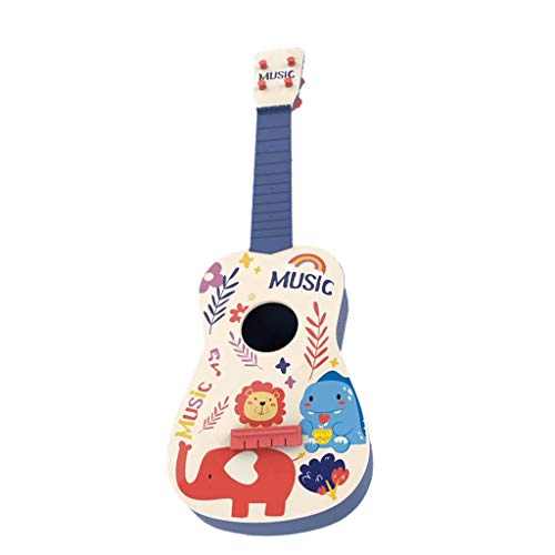 Purchase FEIlei Toy Musical Instrument 21 Inch Cute Cartoon 4 String Mini Wooden Guitar Kids Ukulele...