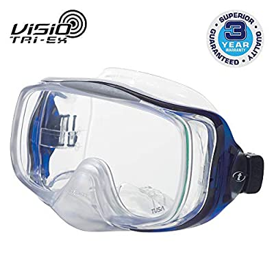 TUSA M-32 Imprex 3D Hyperdry Scuba Diving Mask, Cobalt Blue