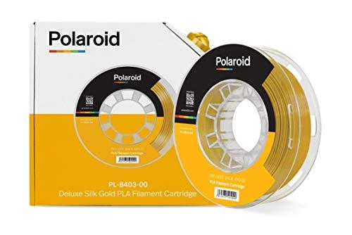 Polaroid filament 250 g universal deluxe silk PLA filament gold