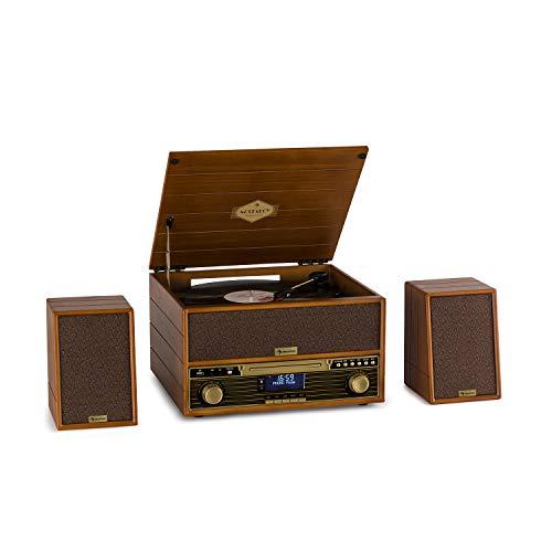 auna Belle Epoque 1910 Wood Edition - Equipo de música, Toc