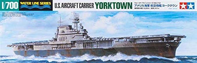 Tamiya 300031712 - Maqueta del portaaviones USS Yorktown CV ...