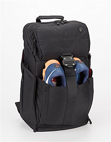 """King Kong Backpack II - Military Spec Nylon Gym Backpack with Expandable Pockets and Heavy Duty Buckles for Active Lifestyle - 20"""" x 13"""" x 7"""" - Burnout"""