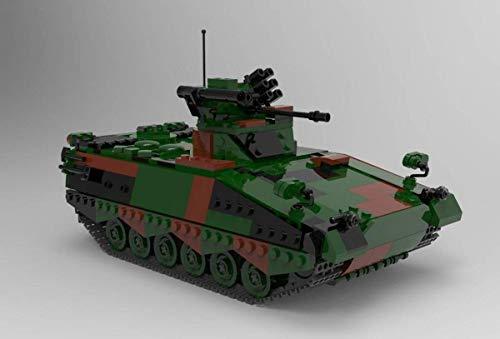 BlueBrixx 06051 Marke Xingbao – Schützenpanzer Marder, Bundeswehr aus Klemmbausteinen mit 1045 Bauelementen. Kompatibel mit Lego. Lieferung in Originalverpackung.