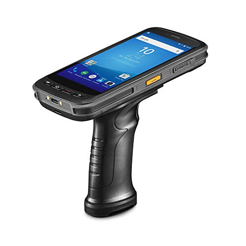 Android Handheld Data Terminal Mobile Computer with 2D PDF417 Zebra Barcode Scanner 3G 4G WiFi BT GPS, Ergonomic Pistol Grip for Warehouse Inventory 3d barcode scanner