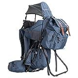 ClevrPlus Urban Explorer Child Carrier Hiking Baby Backpack, Marine Blue