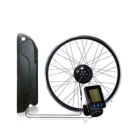 OUYA Nuevo Kit de conversión de Bicicleta eléctrica con batería 12.8AH 350W,...