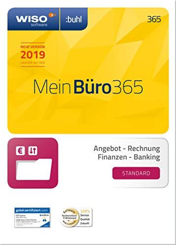 WISO Mein Büro 365 (2019) Standard | Frustfreie Verpackung | Bürosoftware, Rechnung schreiben, Buchhaltung u. v. m.