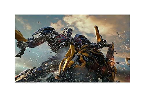 JAZC Transformers Optimus Prime/Bumblebee Holzpuzzle Erwachsene Kinder Puzzle Dekomprimierung Spiel 300/500/1000/1500 Pieces (Size : 1000P)