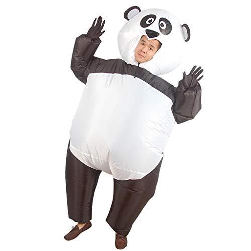 LXLTLB Inflatable Anzug Weihnachtsfeier Aufblasbares Kostüm Panda Kleidung Karikatur Tierpuppe Lustige Kleid