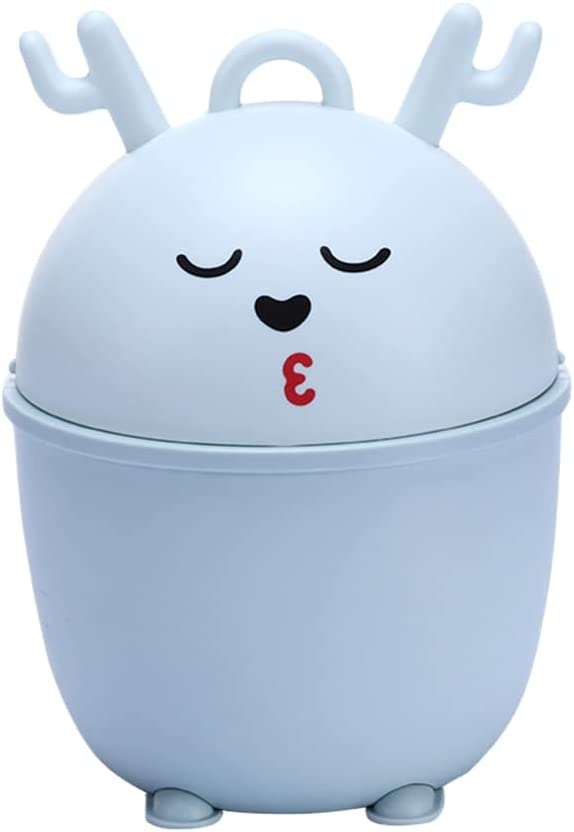 jojofuny Mini Outlet ☆ Free Shipping Trash Can with Lid Garbage Wa Tiny Indefinitely Cute Little
