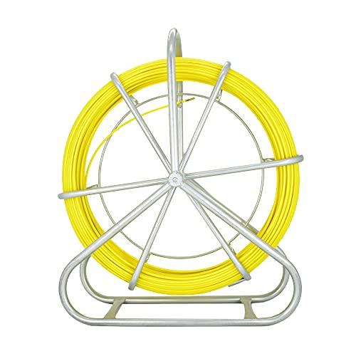 130m Fischband Fiberglas Kabel Rad 304 Edelstahl Fischband Fiberglas 6MM *130m Rohr Rodder (130m)