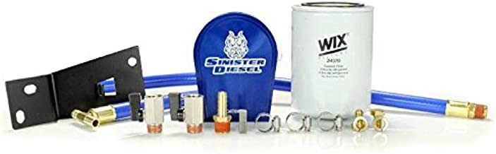 SINISTER DIESEL COOLANT FILTRATION SYSTEM (W/WIX) FOR FORD POWERSTROKE 1999-2003 7.3L