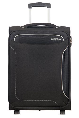 American Tourister Holiday Heat - Upright Bagage Cabine, 55 cm, 42 L, Noir (Black)