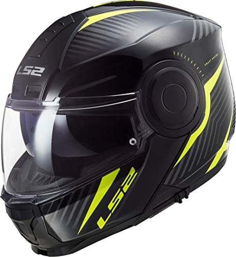 LS2, casco modulare de moto, Scope skid, S
