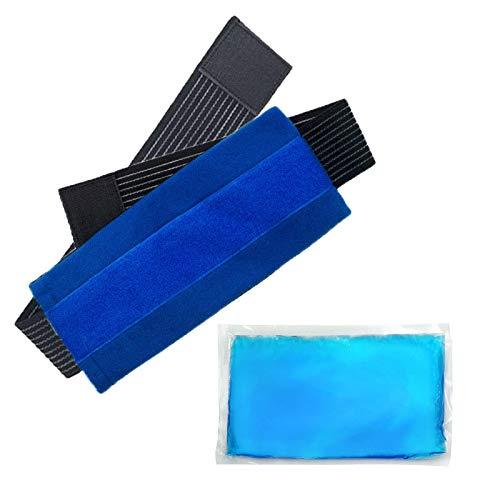 Kaxofang Paquetes Reutilizables de Hielo FríO y Caliente para Lesiones. Dolor en las Articulaciones. Dolor Muscular e InflamacióN Corporal Envoltura de Gel Ajustable