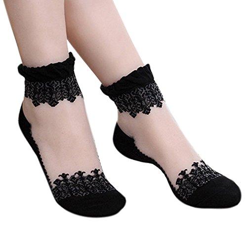 Sanwood - Kurze Socken - Damen, Schwarz S