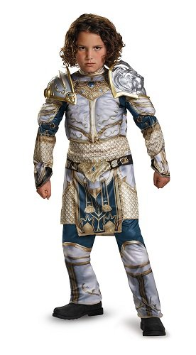 King Llane Classic Muscle Warcraft Legendary Costume, Large/10-12