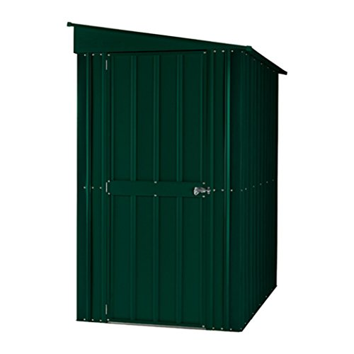 Leisure Traders Lotus 6x4 Lean-To Shed - Green or Grey (Green)