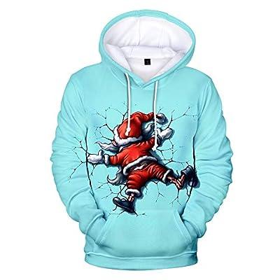 Uni 3D Weihnachten Pullover