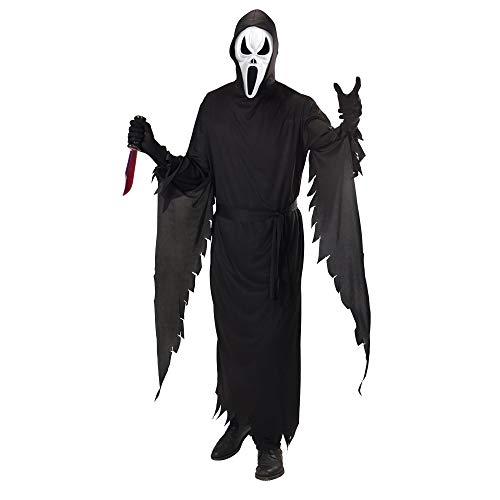 WIDMANN 599386031 - disfraz de fantasma scream adulto talla s , color/modelo surtido