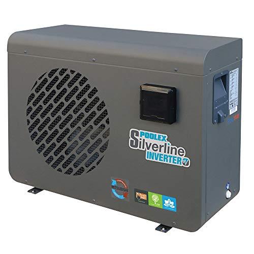 Poolstar Pompe à Chaleur de Piscine POOLEX Silverline Inverter 8,5kW (2019) pour Les bassins de 35 à 50m3