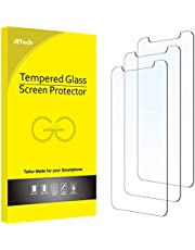 JETech Screen Protector compatible with iPhone 6.1 Inch (12, 12 Pro), Tempered Glass Film, 3-Pack