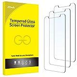 JETech Protector de Pantalla Compatible con iPhone 6,1 Pulgadas (12, 12 Pro), Vidrio Templado, 3 Unidades