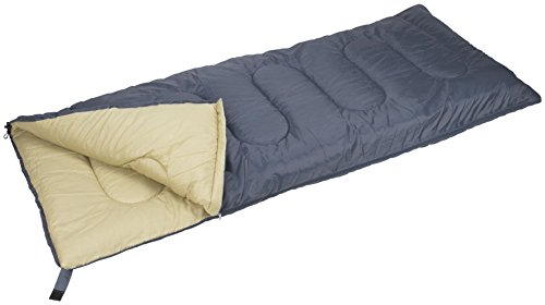 Abbey Camp slaapzak basic, grijs/zand