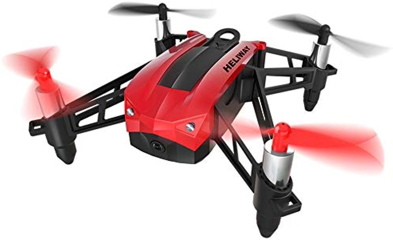 GCM-T Super empfindlicher Geschwindigkeitsschalter für Drohnen, 360 ° Flip & Roll, Headless-Modus, Lichtsteuerung, 30W HD-Pixel, Rot