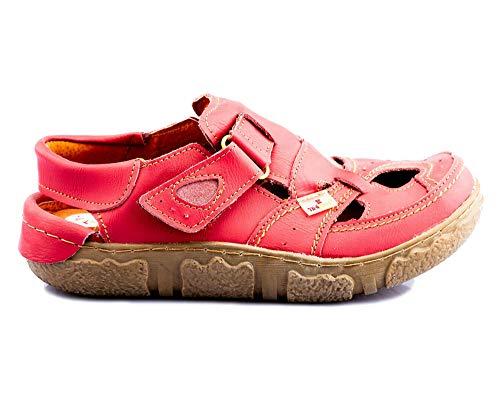 TMA 7088 Damen Sandaletten rot - EUR 39