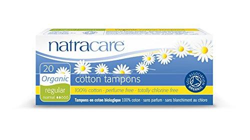 Natracare Tampon Normal sans Applicateur x 20 Non Bio