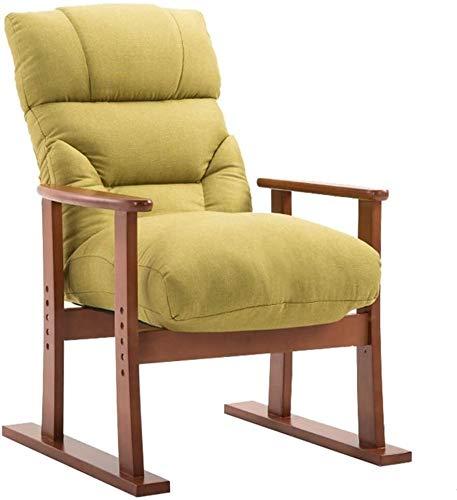 Sillón reclinable al aire libre Reclinable de tela de cine en casa única ajustable masaje muebles sofá reclinable con cojín grueso y respaldo reclinable moderna sala de estar ( Color : Dark Frame )