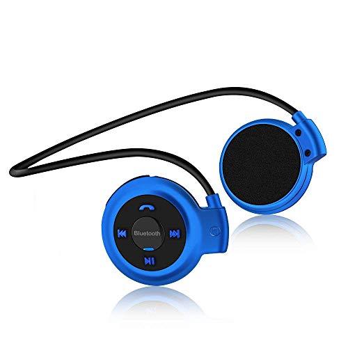 Auriculares Bluetooth Deporte V4.1 Auriculares Bluetooth inalámbrico con Rádio FM con micrófono para Correr, Entrenamiento, Fitness, soporta Tarjeta SD Universal
