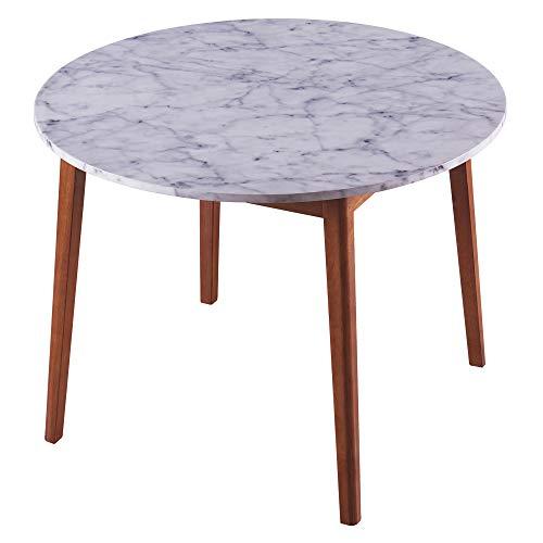 Versanora Dining Tables, Wood, Gold, 101.6x101.6x74.93