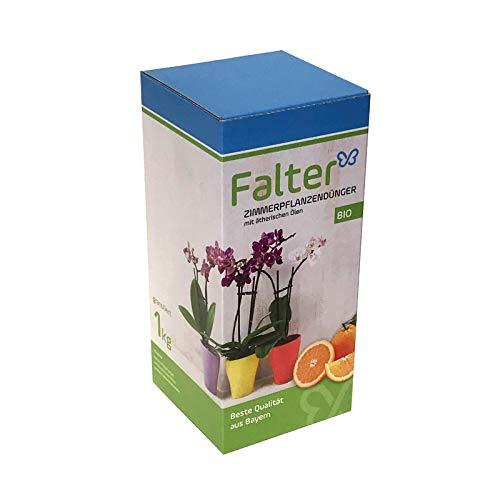 Falter´s Zimmerpflanzendünger mit Orangenduft - Regionaler BIO Dünger für Zimmerpflanzen mit ätherischen Ölen und Duft - Beste Qualität aus Bayern - 1 kg